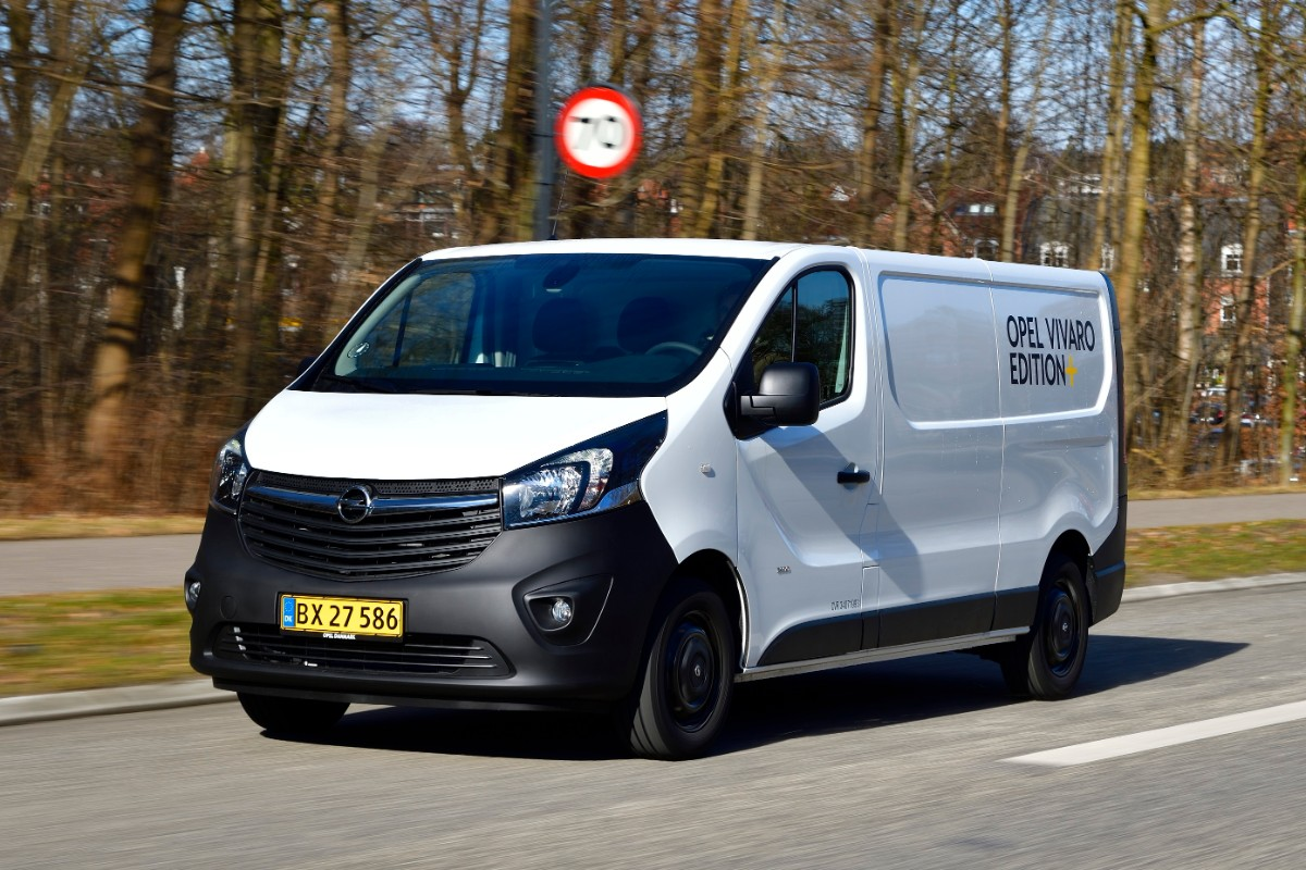Opel Vivaro Edition Plus forfra