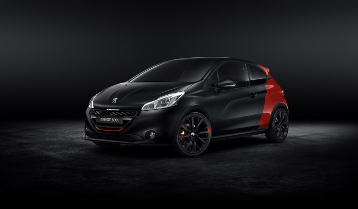 Peugeot fejrer jubilæum med 208 GTi 30th