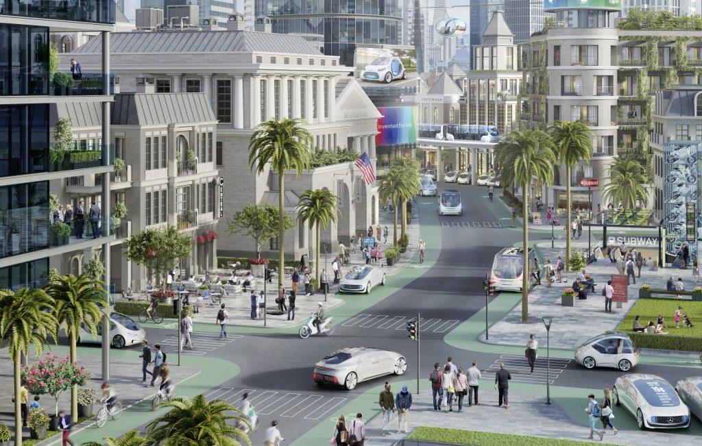 Bosch og Daimler vil gøre by i Californien til centrum for selvkørende biler