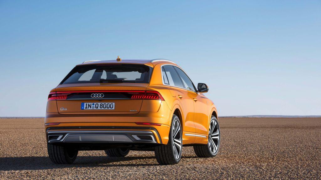 Audi Q8 – Det nye ansigt i Q-familien kommer snart til DK