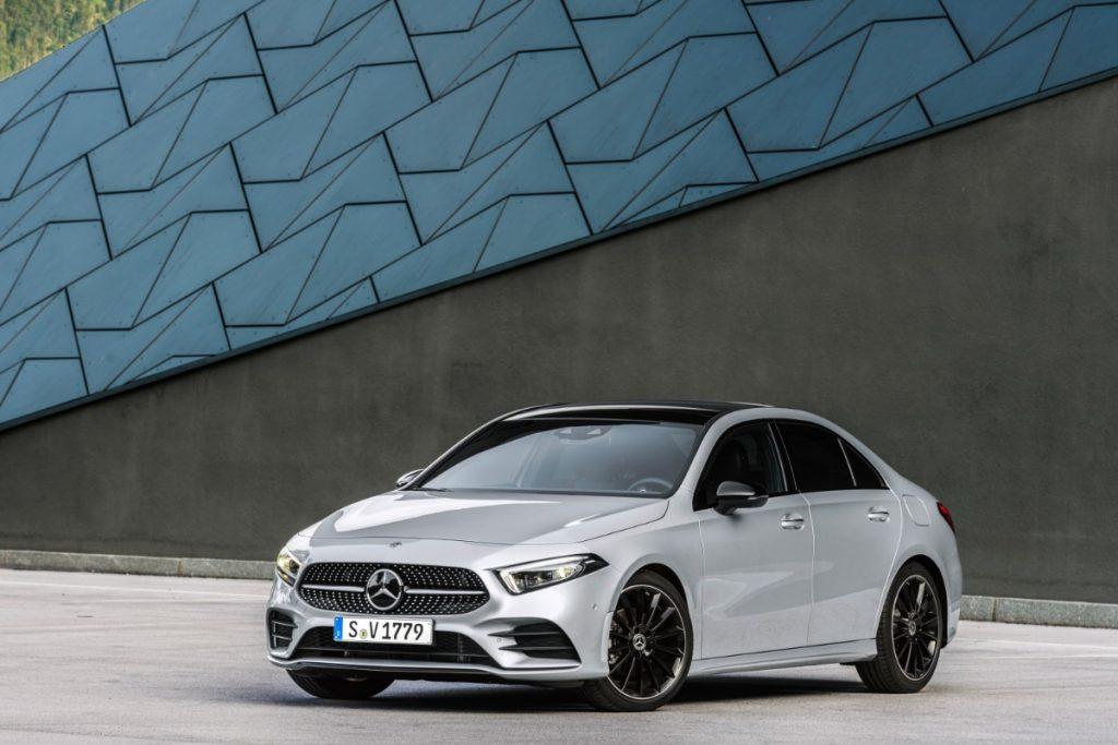 Nyt medlem af Mercedes-Benz familien – Nu kommer A-Klasse sedan