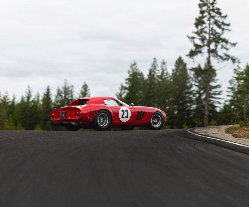 Ferrari 250 GTO fra 1962 solgt for 311 millioner kroner på Sotheby's Monterey auktion