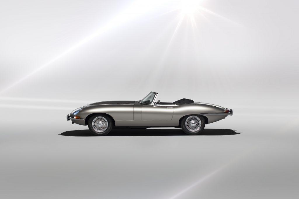 Jaguar E -type – Nu med E for elektrisk