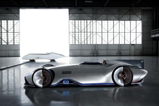 Mercedes-Benz præsenterer eldrevet sølvpil