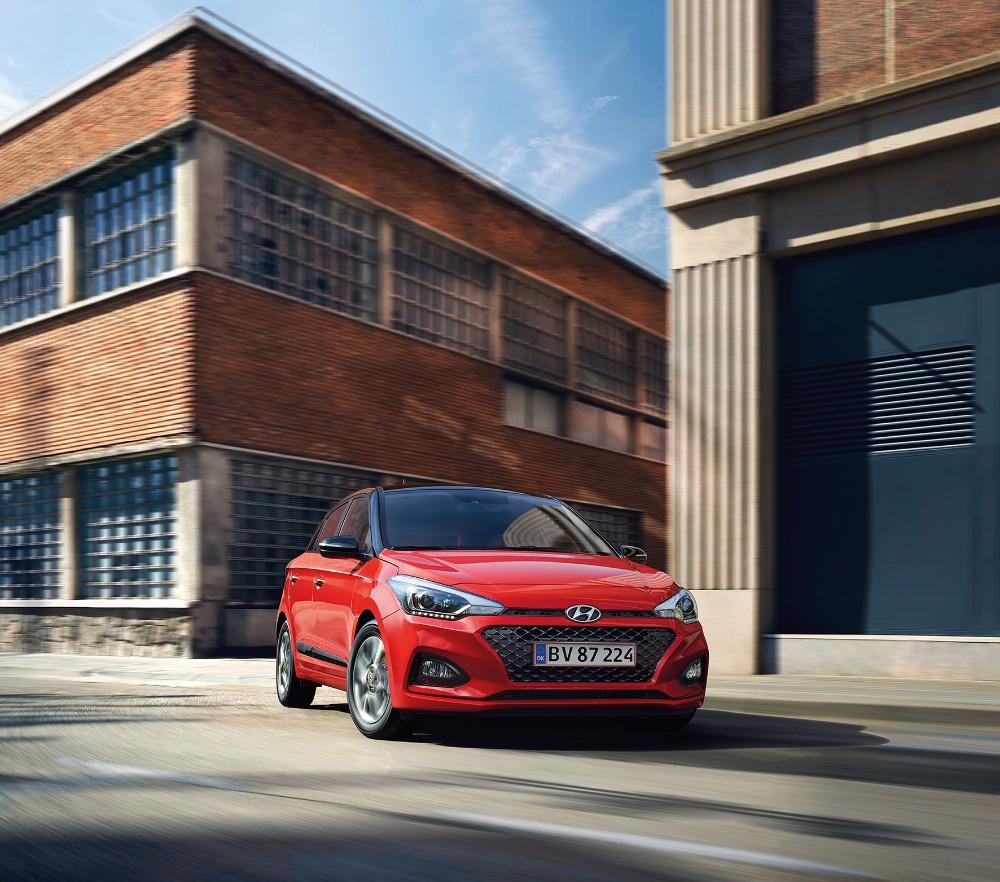 Faceliftet Hyundai i20 er på vej