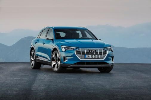 VERDENSPREMIERE: Endelig kom Audi e-tron