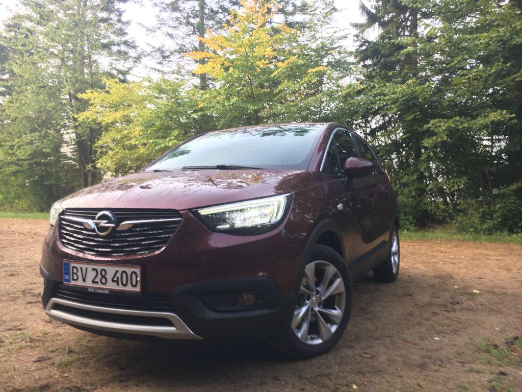 TEST: Opel Crossland X – fransk-tysk gadekryds