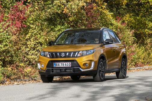 Danmarkspremiere på faceliftet Suzuki Vitara