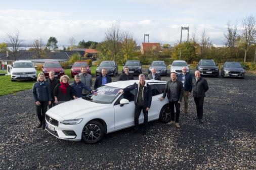 Volvo V60 er kåret til Årets Business Bil 2019