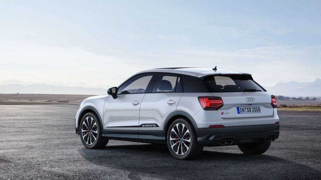 Audi løfter sløret for de tekniske data på Audi SQ2