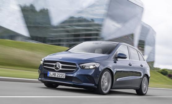 Nu er der danske priser på den nye Mercedes-Benz B-Klasse