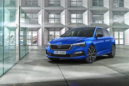 Ny Škoda Scala afsløret