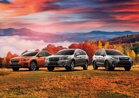 Bedste år nogensinde for Subaru i Danmark