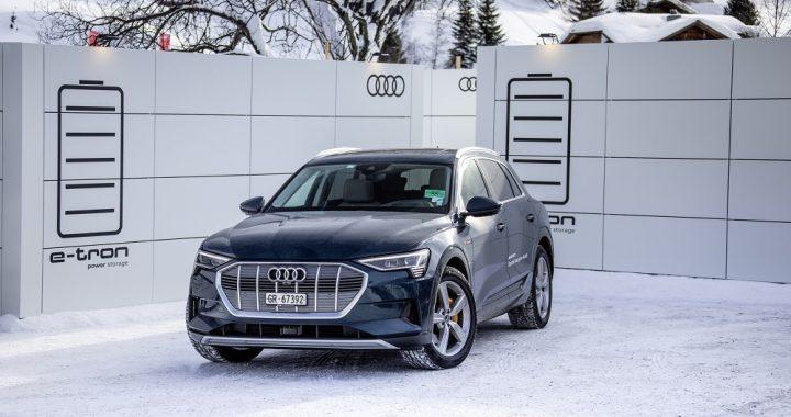 Audi tester genbrug af elbilsbatterier