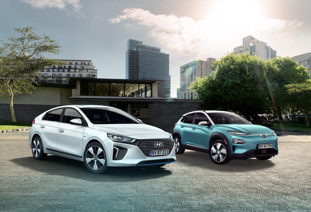 Hyundai Kona og Ioniq