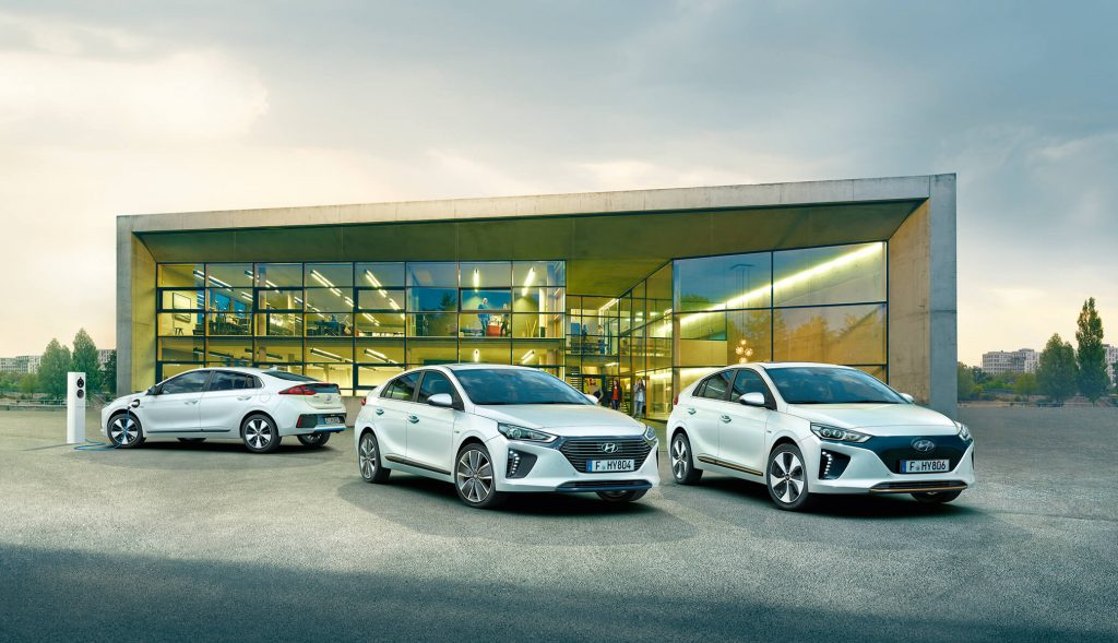 Hyundai Electric og Plug-in lineup