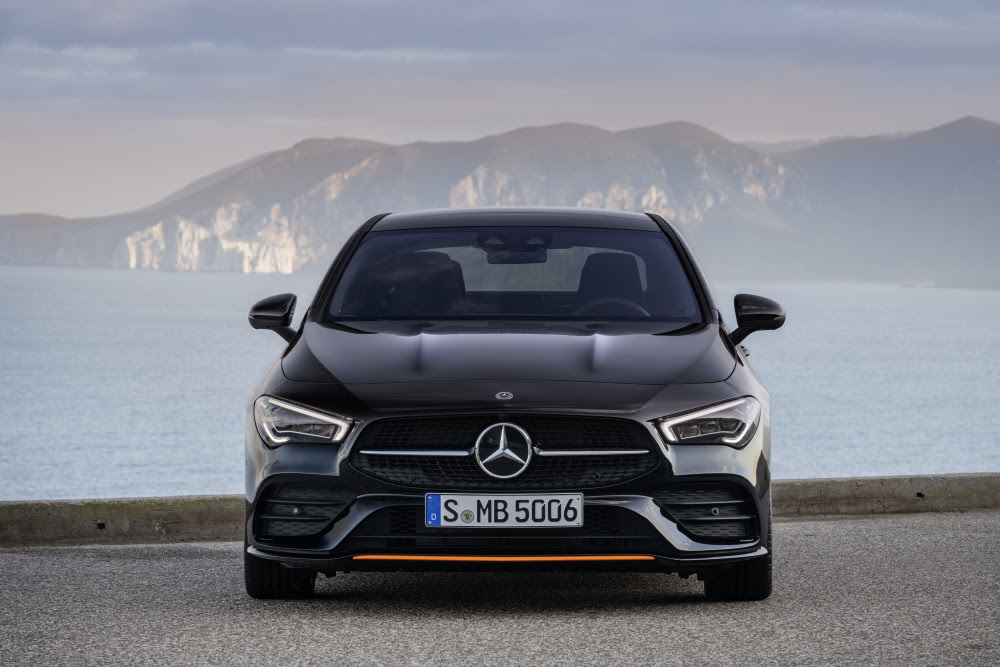 Jackpot i Las Vegas – Her er den ny Mercedes-Benz CLA coupé