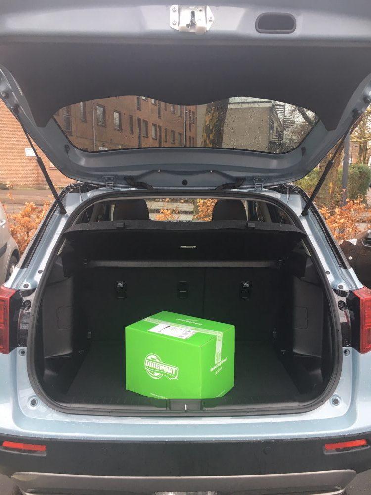 anstændig bagageplads i Suzuki Vitara