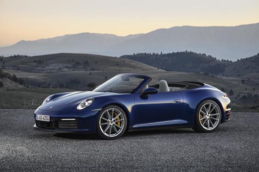 Sommer og sol – her er den nye Porsche 911 Cabriolet