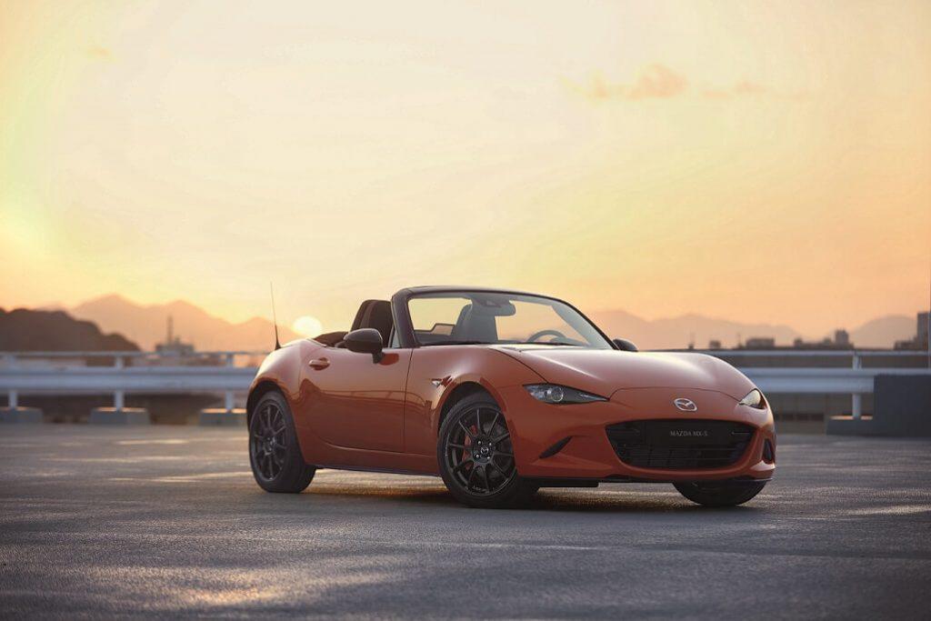 Verdens bedste billige roadster fylder 30 år. Se jubilæumsudgaven af Mazda MX-5 her