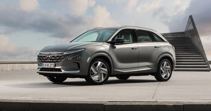 Hyundai NEXO forfra