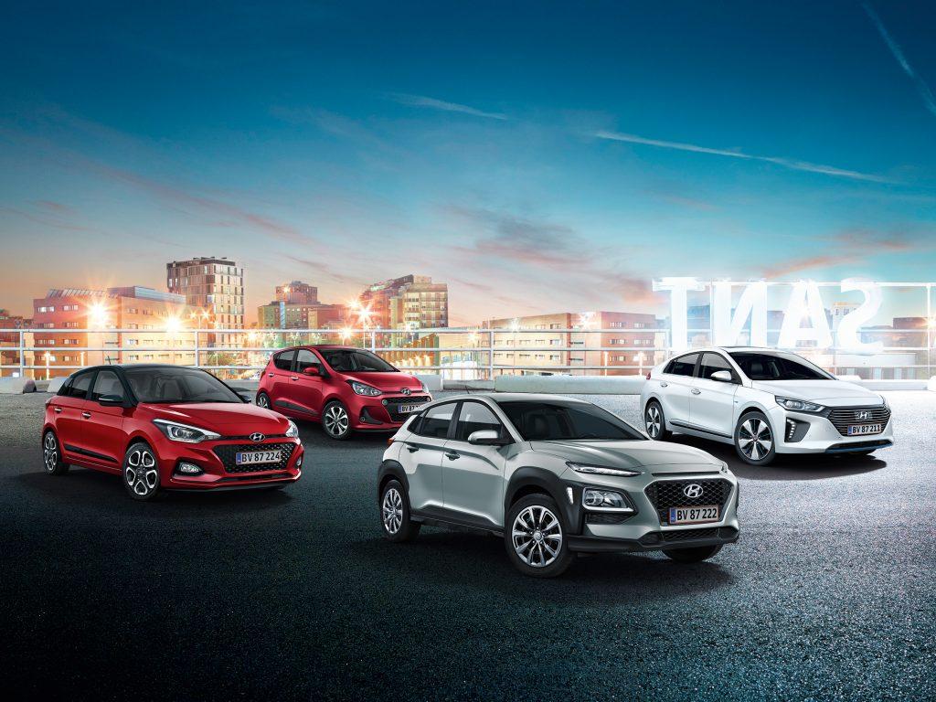 Hyundai line-up