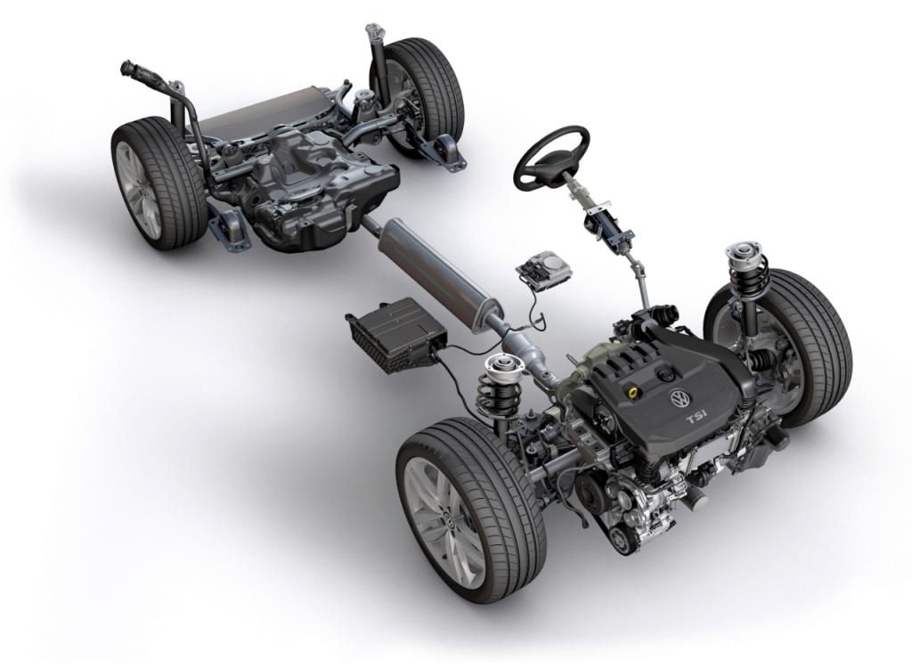 VW Golf får mild hybrid
