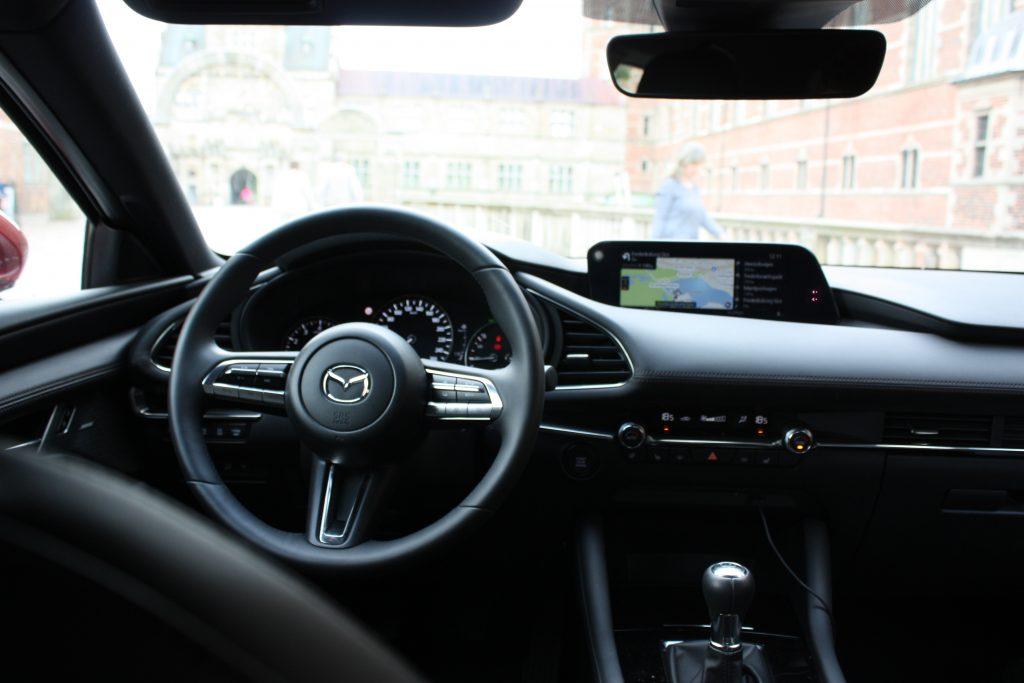 Mazda 3 interiør